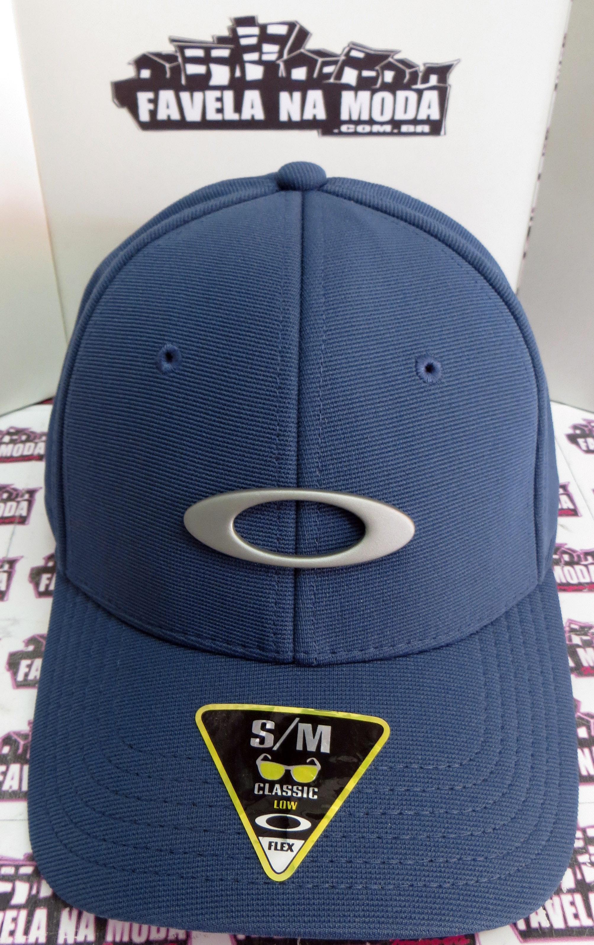 Boné Oakley Metal Tincan - Azul Magestic 9063249acfe