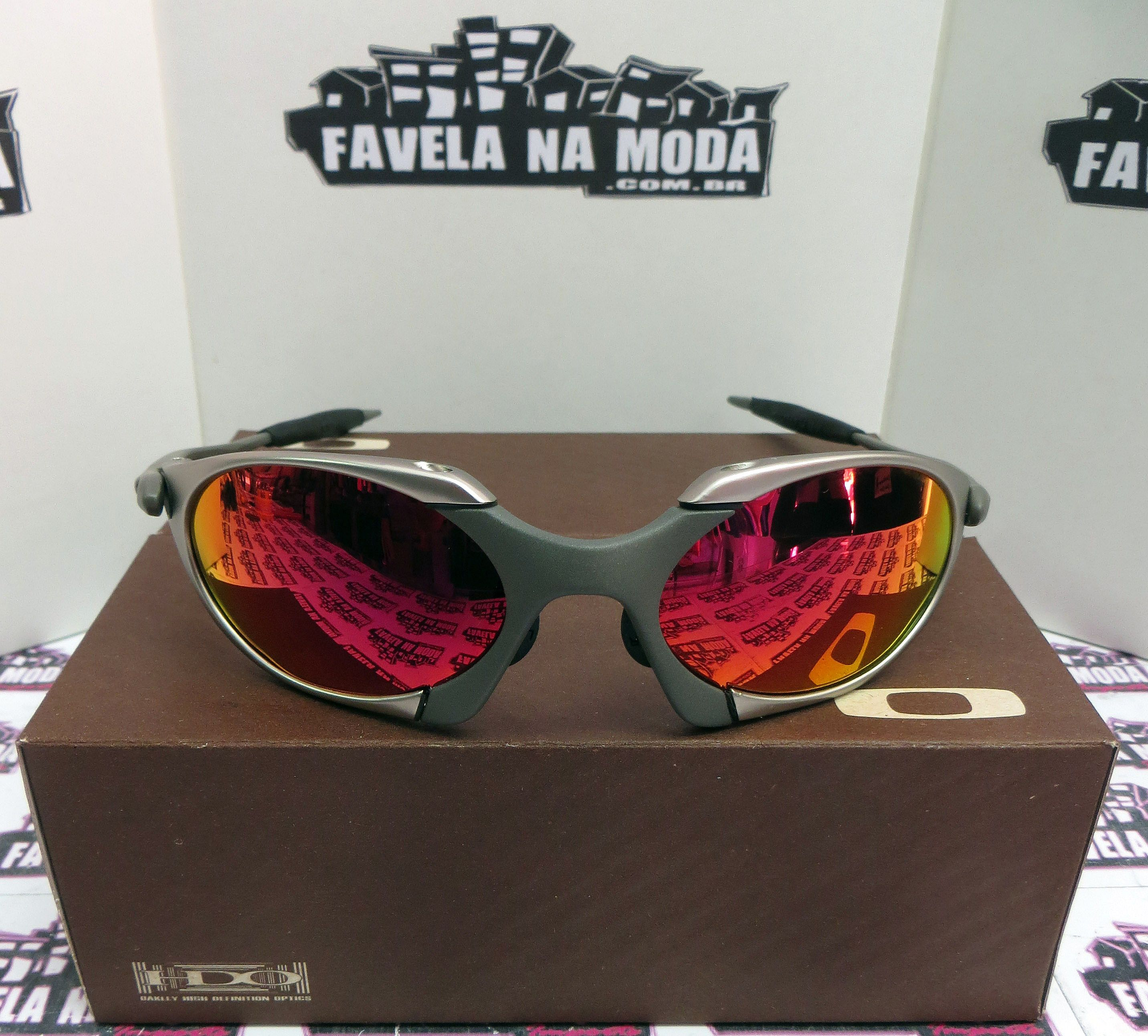 Óculos Oakley Romeo 1 - Tio 2 - Plasma e X-Metal   Dark Ruby 28768fbf7a