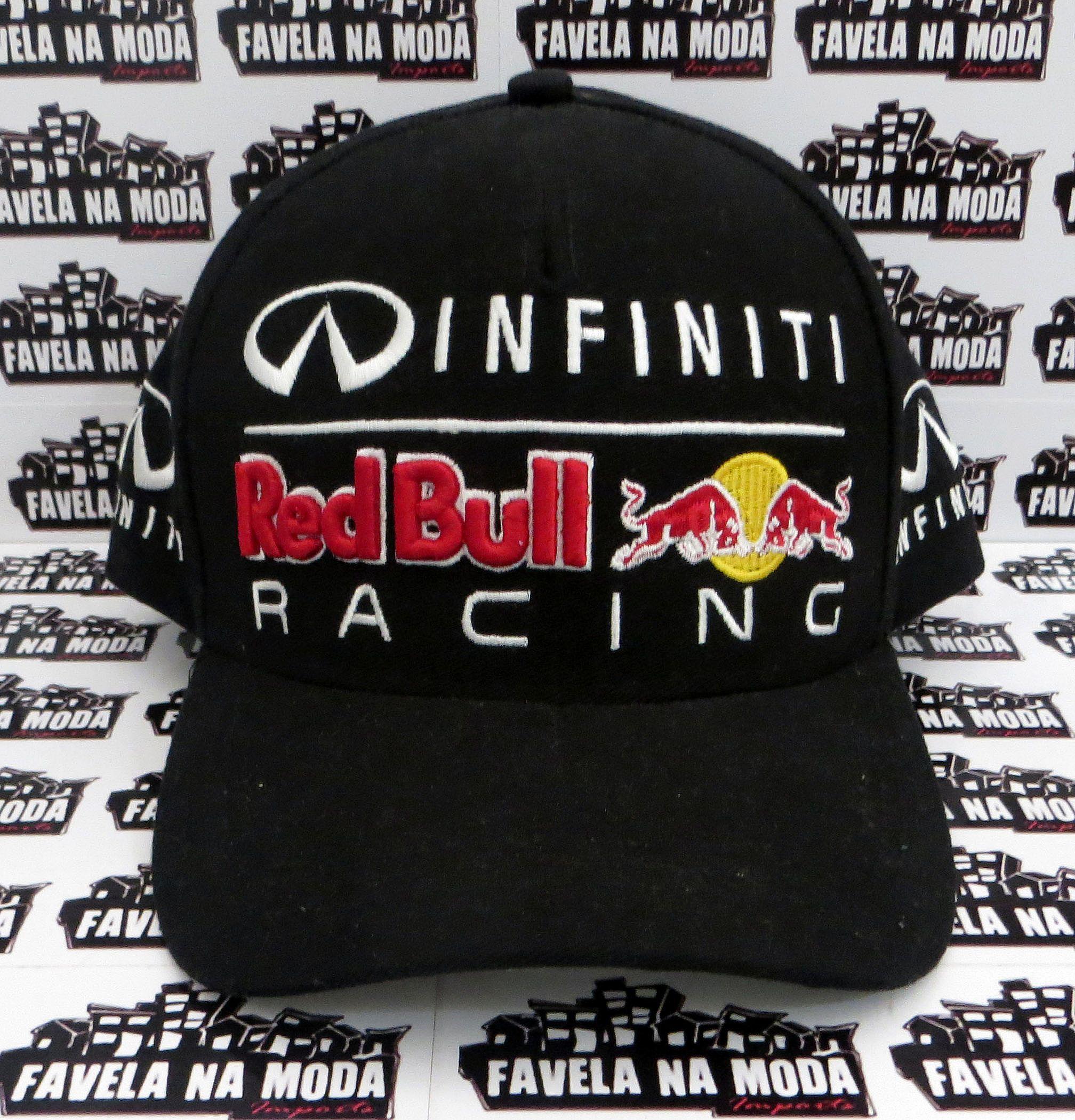 Boné Red Bull Racing Infiniti F1 - Preto e388158edcc