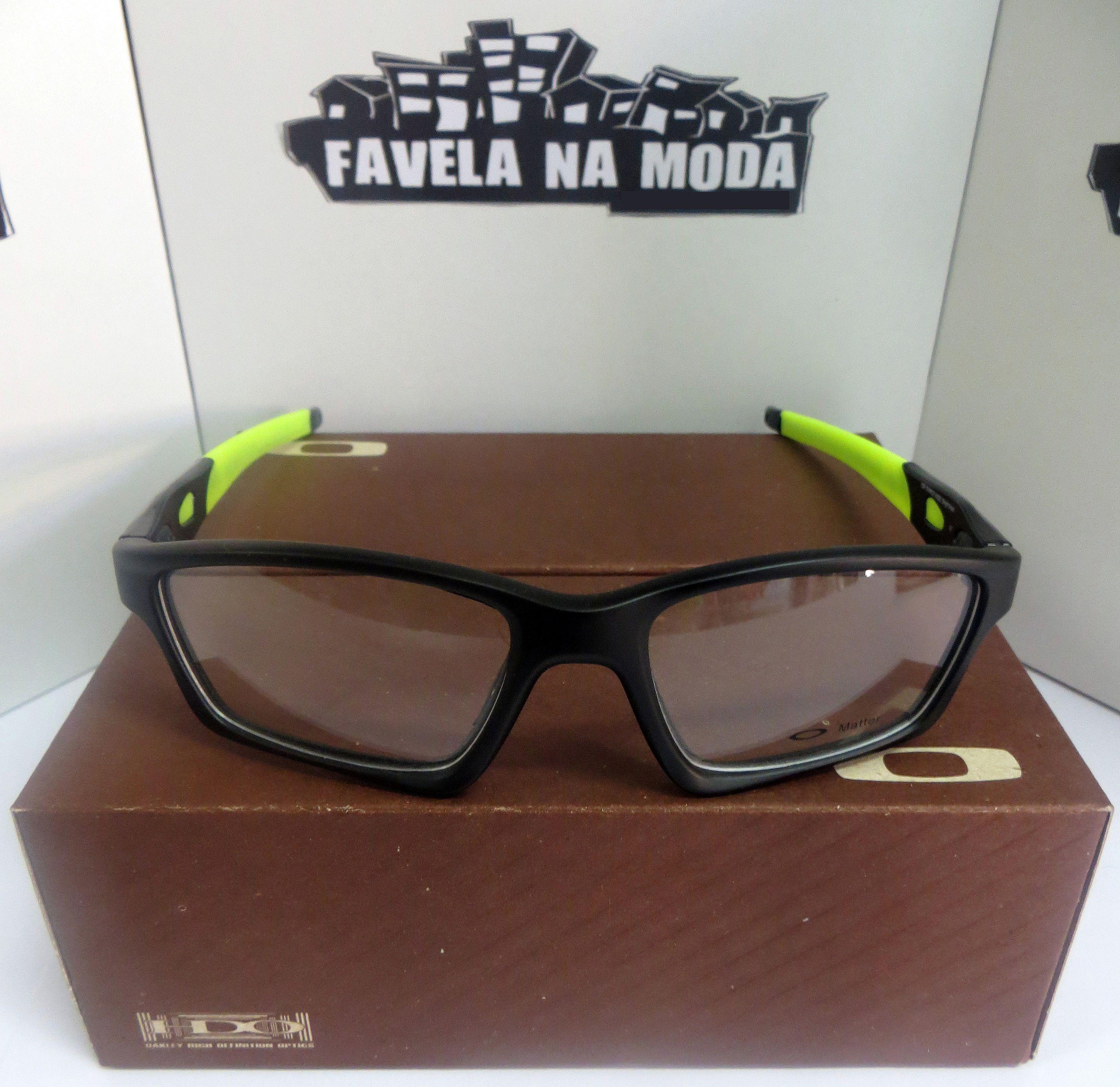 8ed60088a Óculos - Óculos Oakley - Crosslink - Favela na Moda Imports
