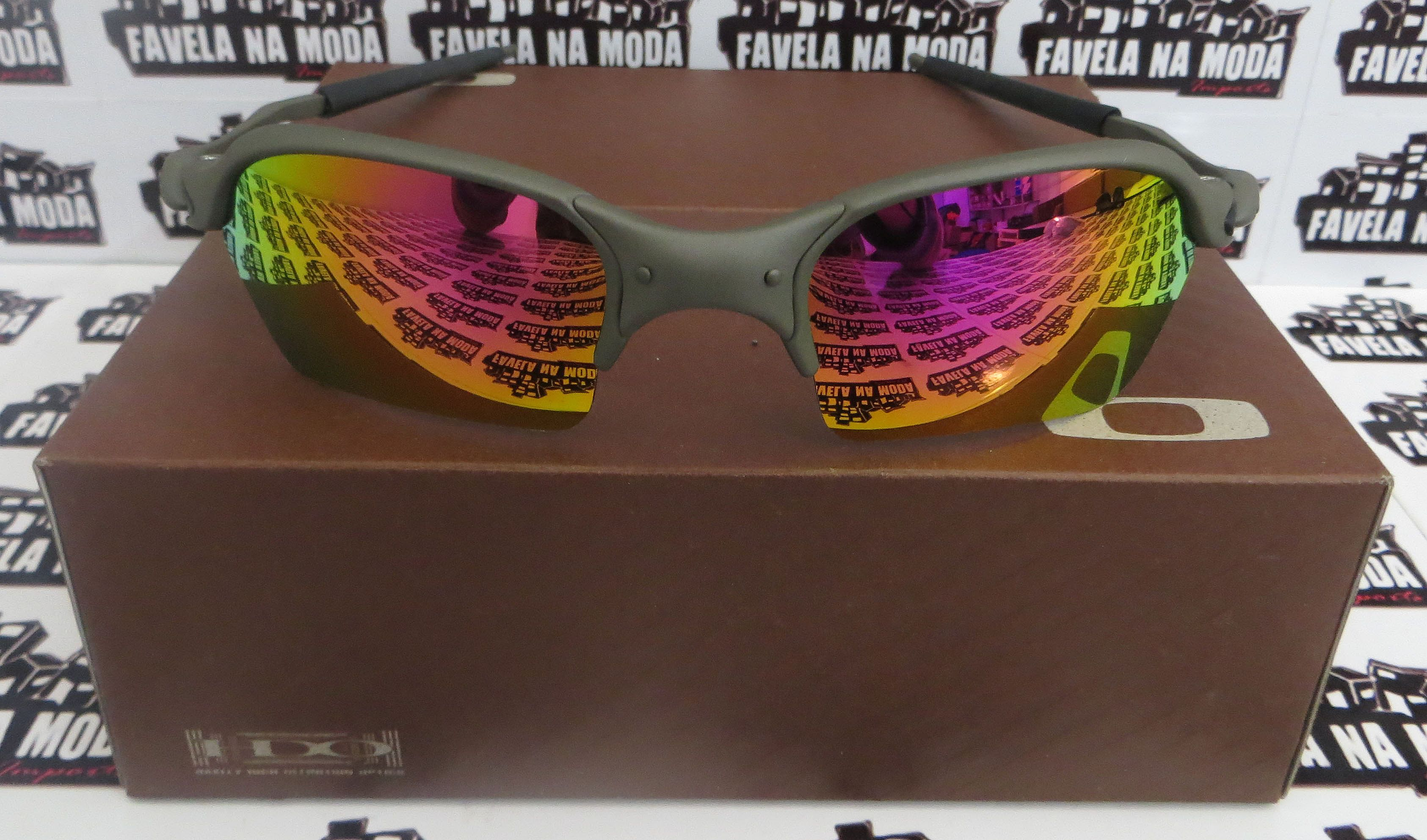 ba9860a36 Óculos Oakley Romeo 2 - X-Metal / Pink / Borrachas Pretas