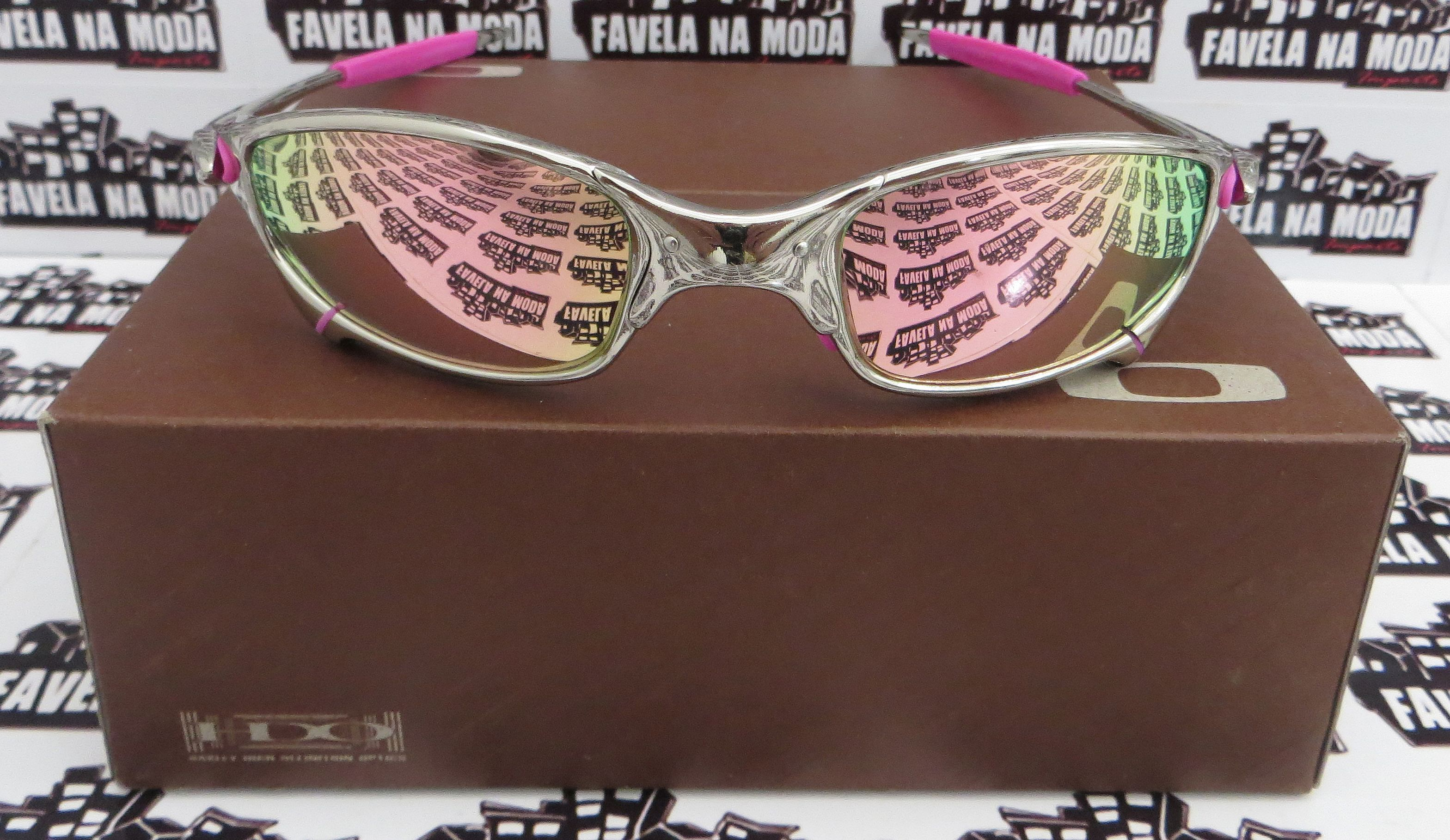 b043517bd993b Óculos - Óculos Oakley - Juliet - Favela na Moda Imports