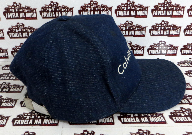 Boné Calvin Klein - Jeans - Favela na Moda Imports 2ec219f0d5f
