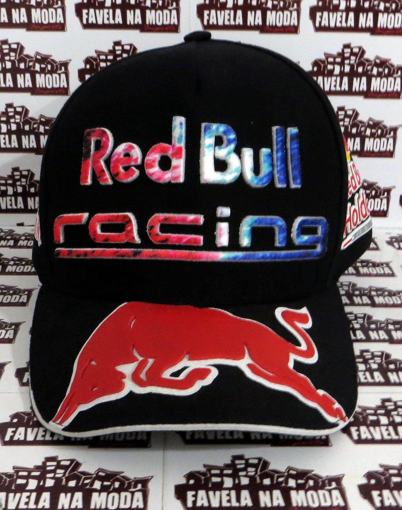 Boné Red Bull Racing Holden - Preto b8cd5e79e97