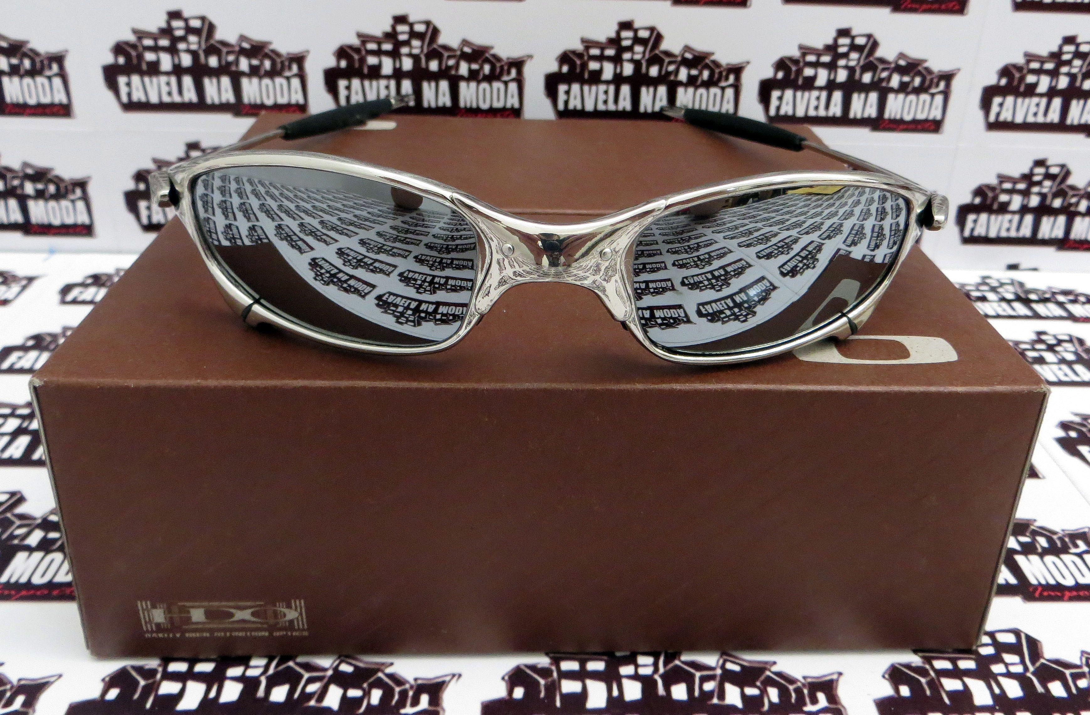 bce24959a Óculos Oakley Juliet - Polished / Liquid Metal / Borrachas Pretas