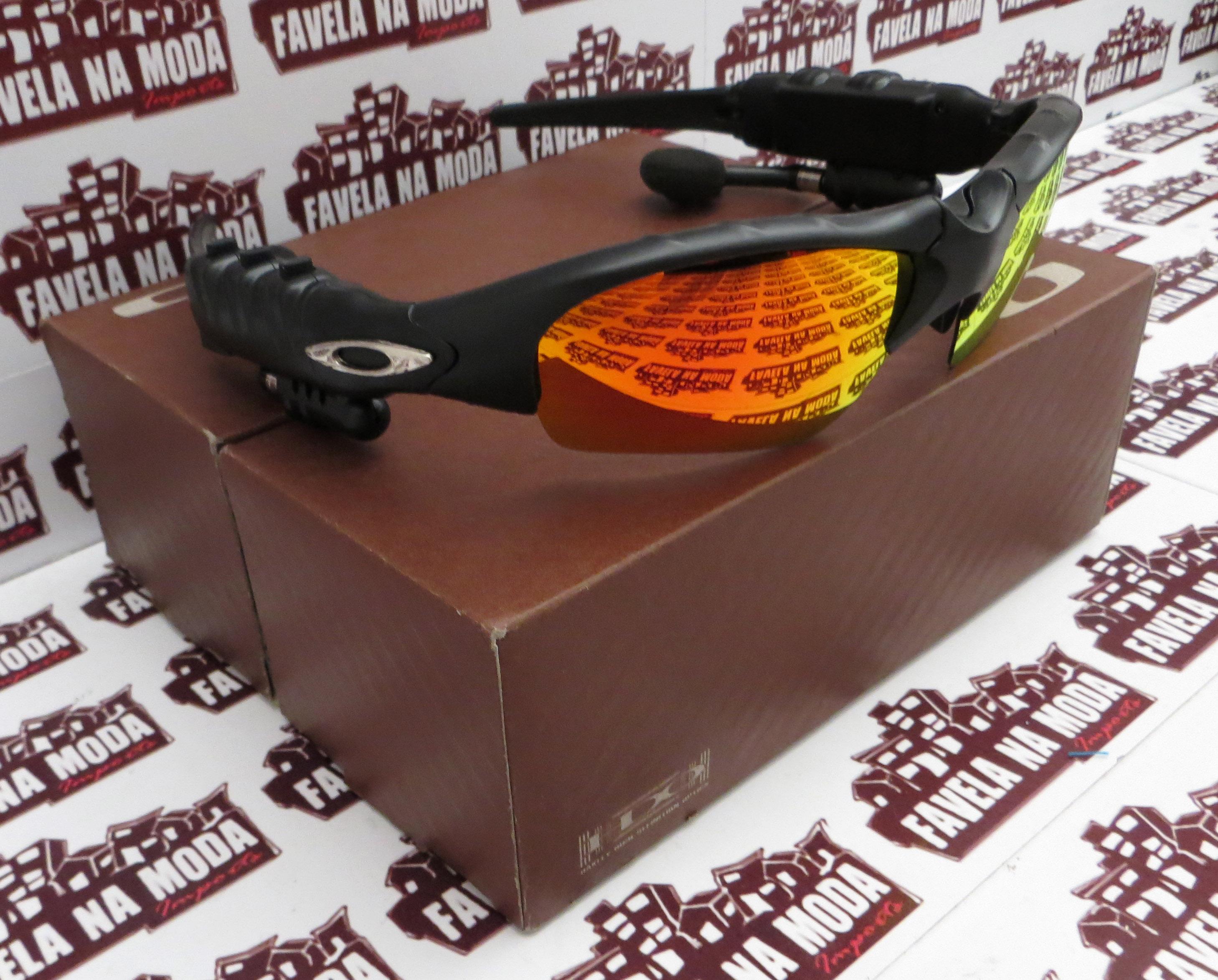 30a6ba73c Óculos Oakley Thump - Black / Dark Ruby - Favela na Moda Imports