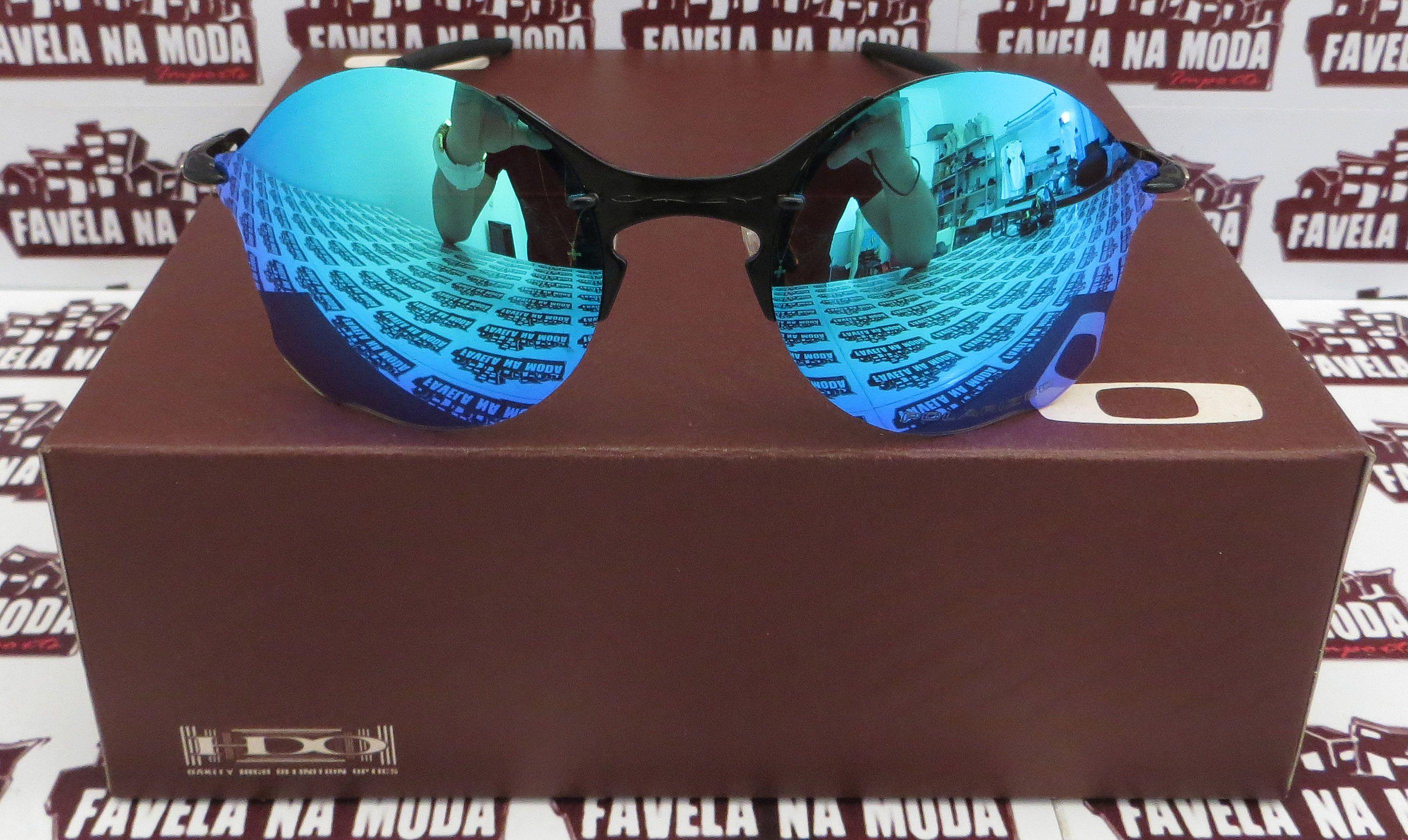 e6b7163623e34 Óculos Oakley Tailend - Carbon   Ice Thug   Borrachas Pretas