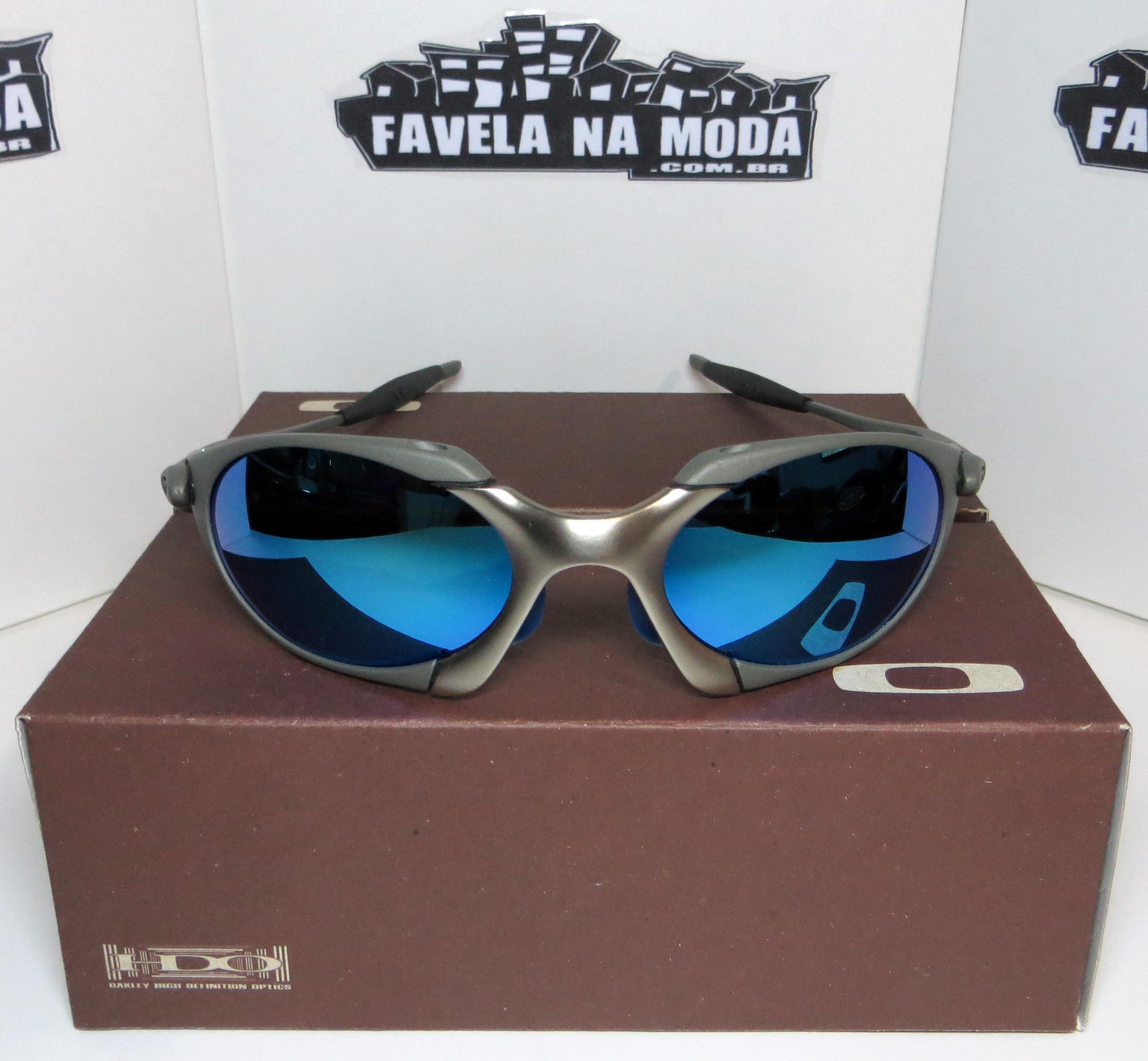 Óculos Oakley Romeo 1 - Tio 2 - X-Metal e Plasma   Ice Thug   Borrachinhas  Pretas f0e03739a2
