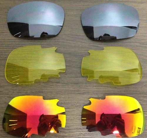 95bad90af4a1a Kit com 3 pares de Lentes de reposição Oakley Racing Jacket