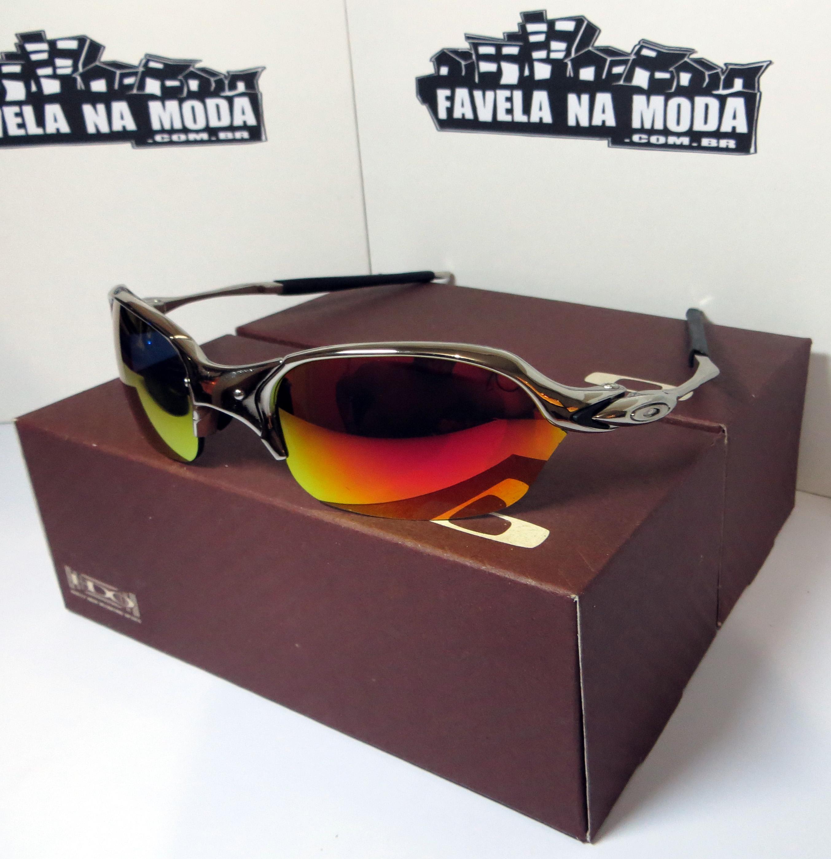 ee02750dd787c Óculos Oakley Romeo 2 - Polished   Dark Ruby   Borrachinhas Pretas ...