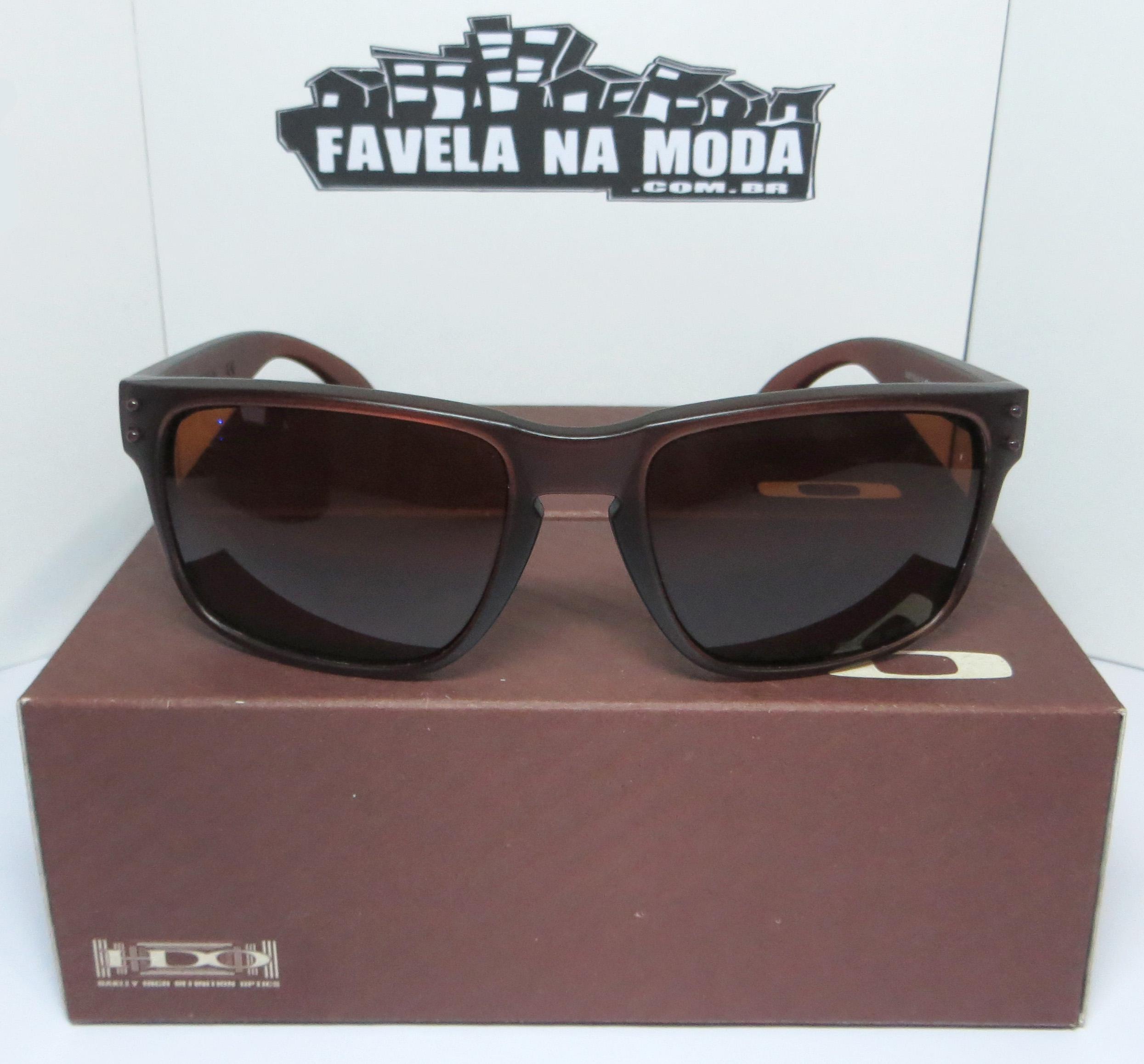 079be1a446d37 Óculos Oakley Holbrook (Matte Rootbeer) - Armação Marrom Transparente    Lente Marrom   Ícone Marrom