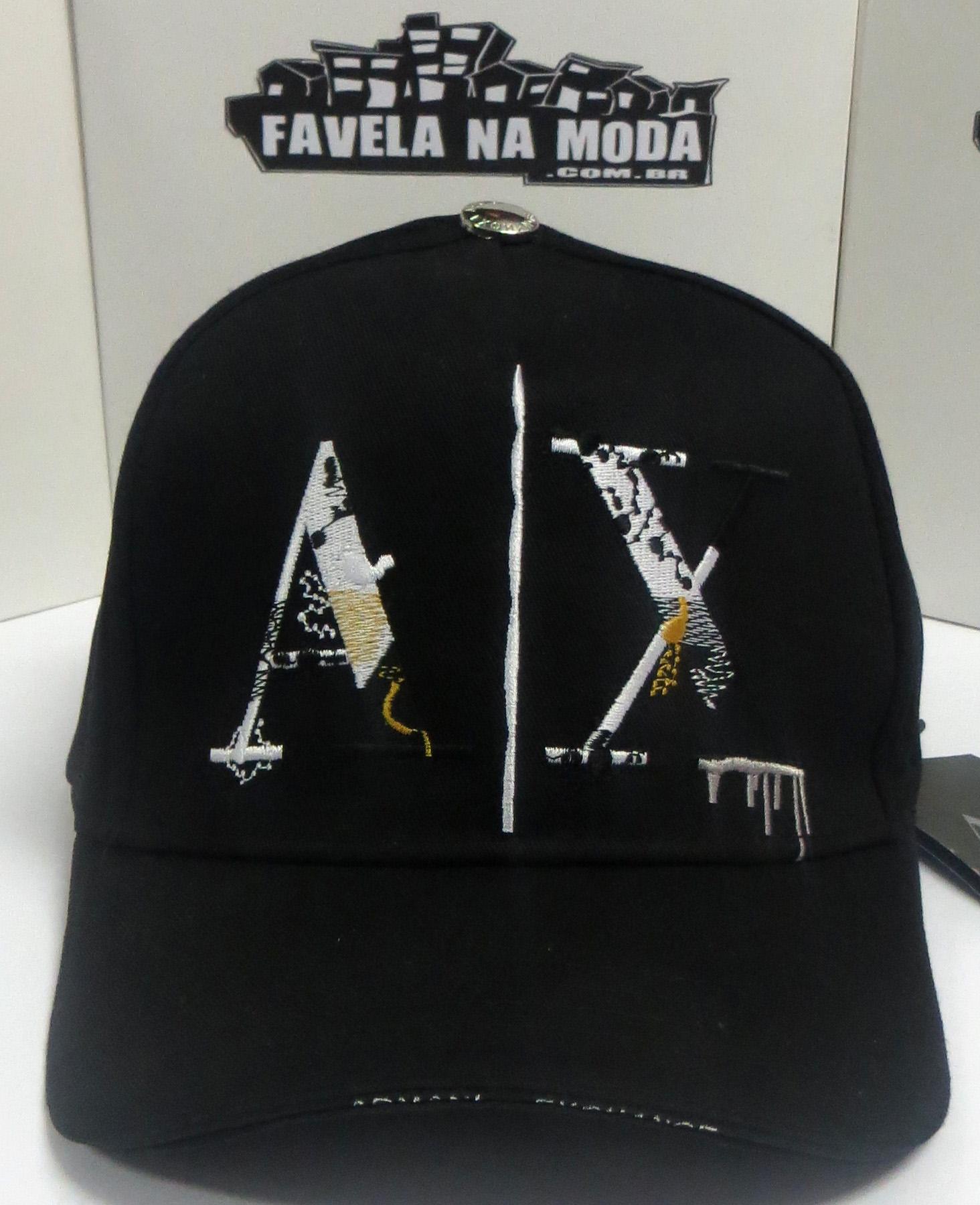 e712322063b29 Bonés - Armani Exchange - Favela na Moda Imports