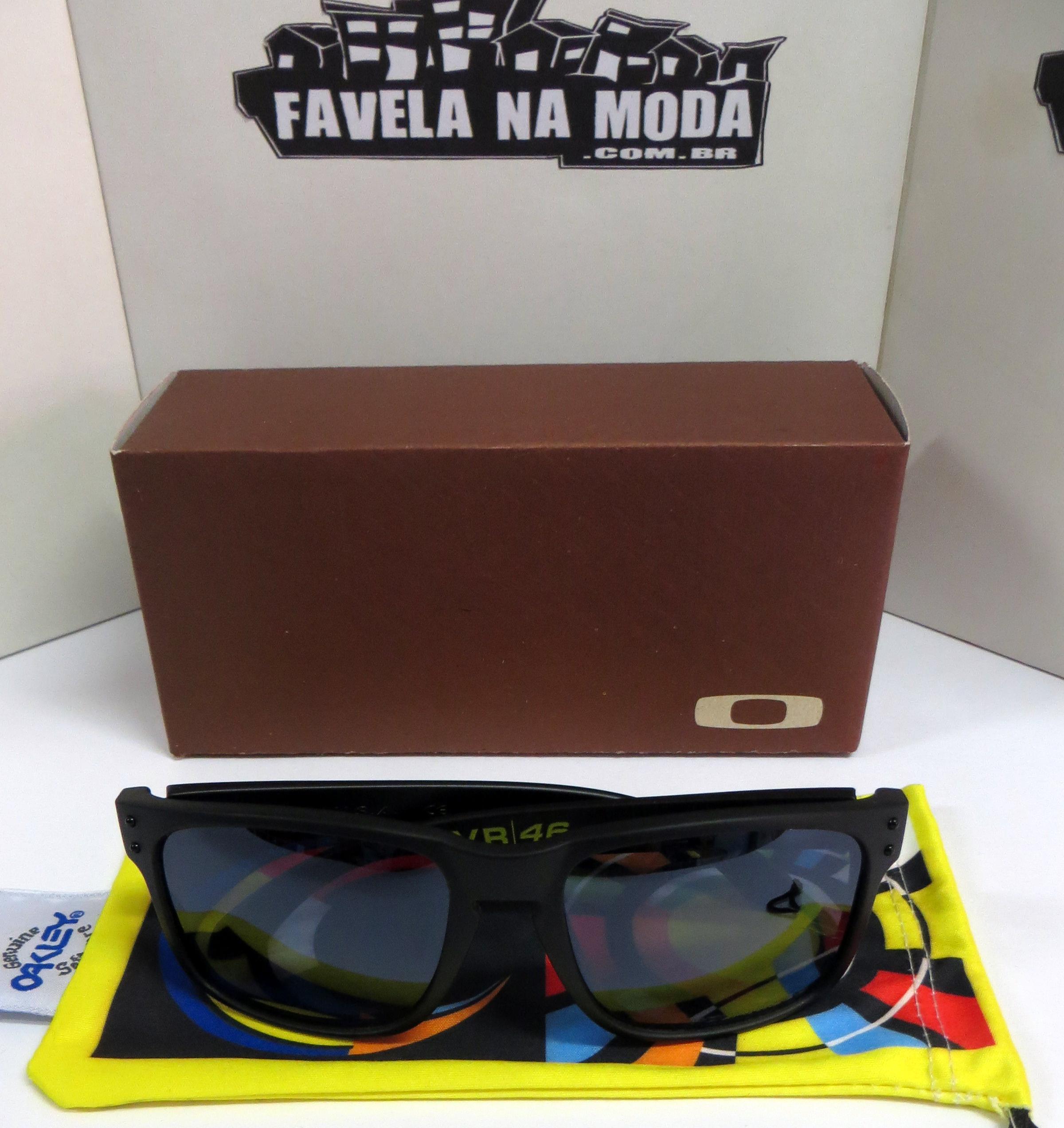 Óculos Oakley Holbrook (Valentino Rossi VR46) - Armação Preto Fosco ... 6244ad2c8d