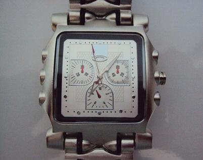 7d09d6488e1 Relógio Estilo Tank Minute Machine Oakley - Branco