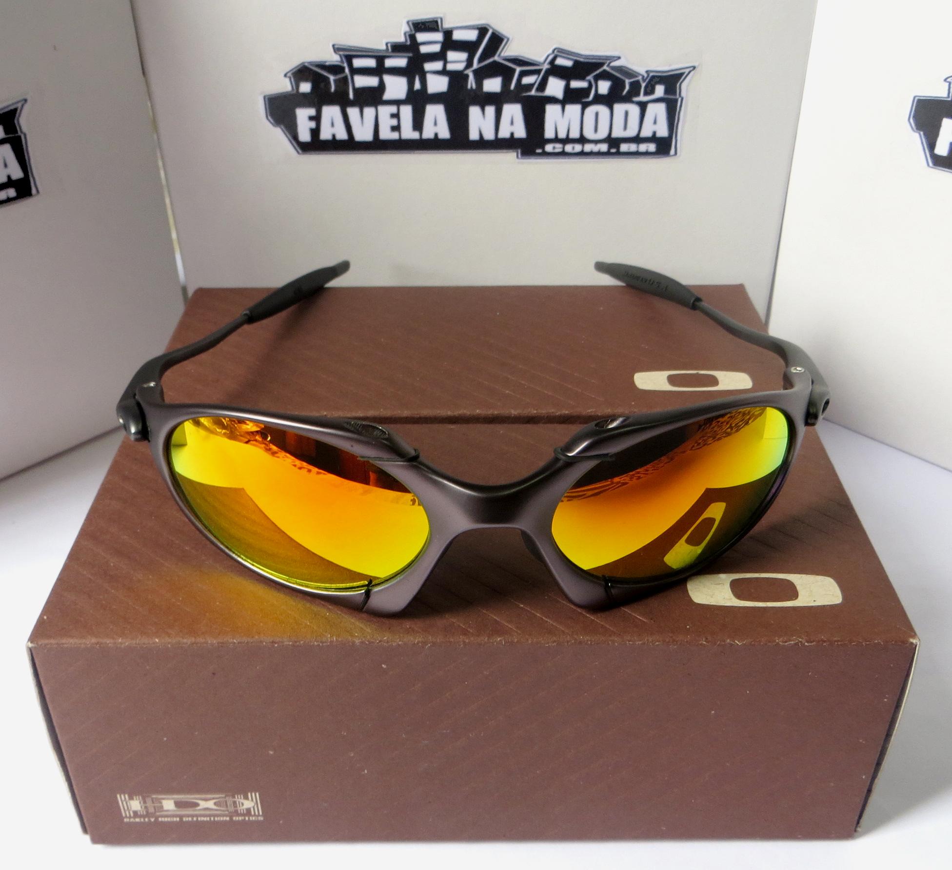 7bec99ff05830 Óculos Oakley Romeo 1 - Carbon   Fire Red   Borrachinhas Pretas