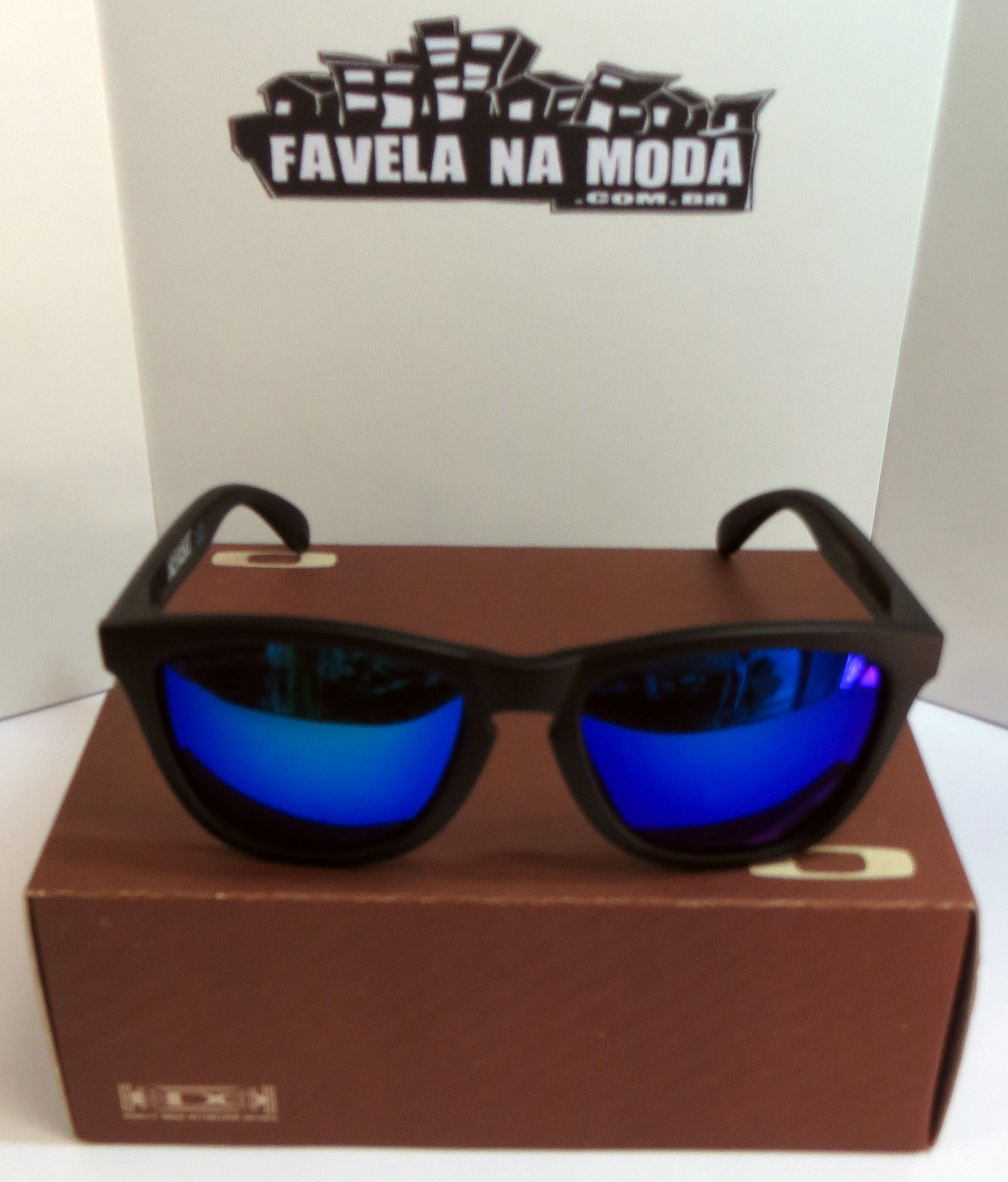 oakley garage rock lente azul